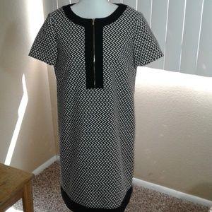 Tahari Dresses - NWOT Tahari Printed Shift Dress SZ 10